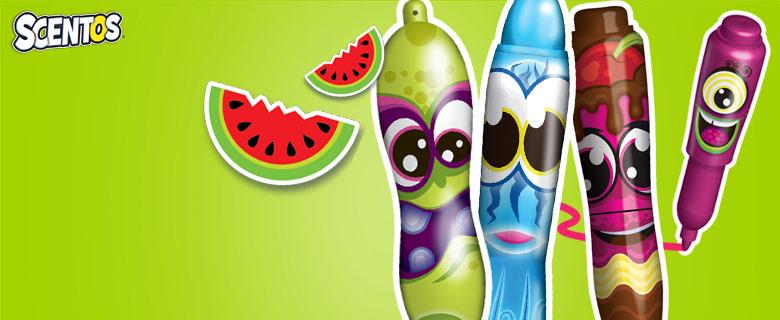 Scentos A gyümölcsösen illatozó írószerek!