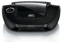 Philips AZ1837 - Přenosné rádio s CD přehrávačem
